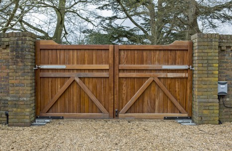 Iroko automated gates